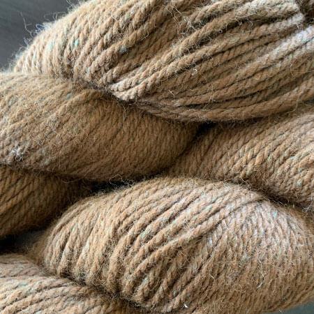 Avalon 16: Dark Brown Worsted Alpaca and Bamboo Yarn