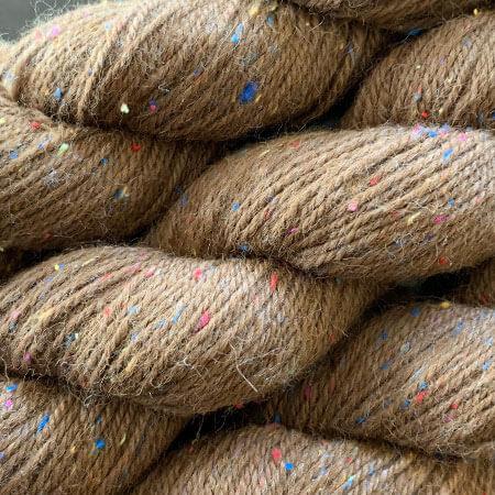 Avalon-17-Brown-DK-Yarn-in-100%-Alpaca-and-Silk-Noil