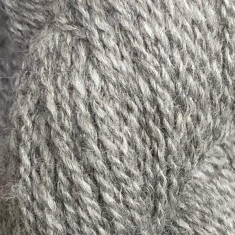 Indie 18: Silver Grey DK 100% Alpaca Yarn