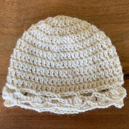 Beige-Baby-Alpaca-Hat