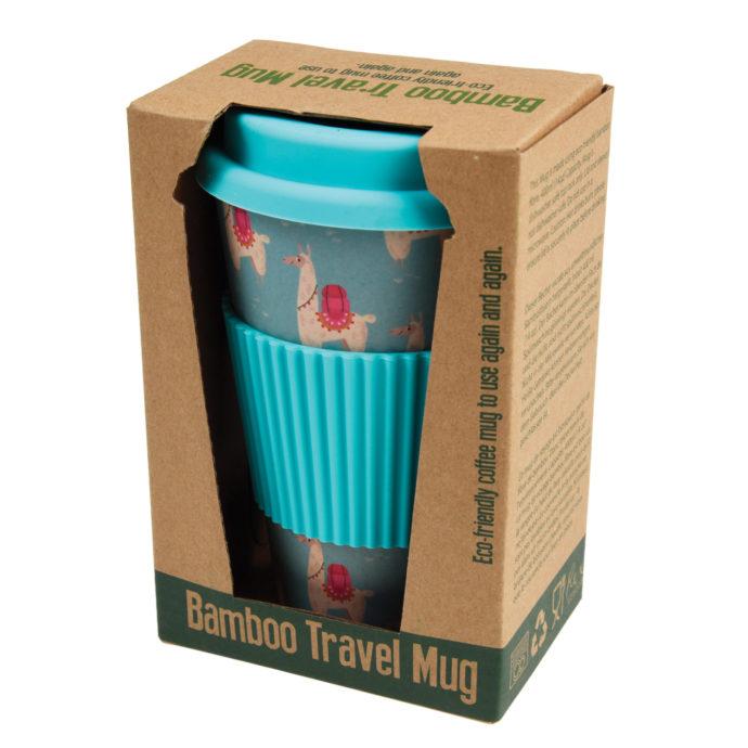 Llama Travel Mug in Packaging