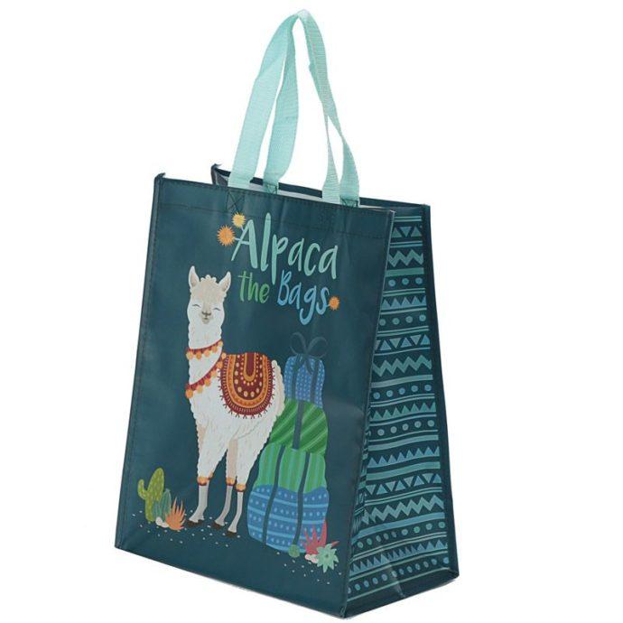 Reusable Alpaca Shopping Bag