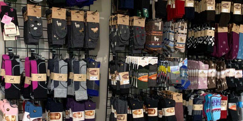 Farm Store Sock Display