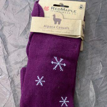 RM Wild Berry Snowflake Socks