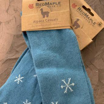 RM Surf Snow Flake Alpaca Socks