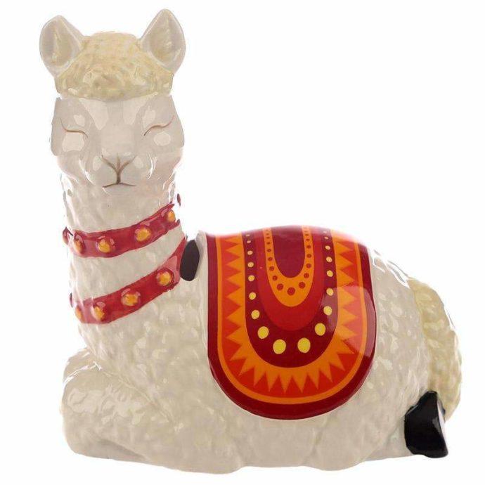 Alpaca the Herd Ceramic Money Box (bank)