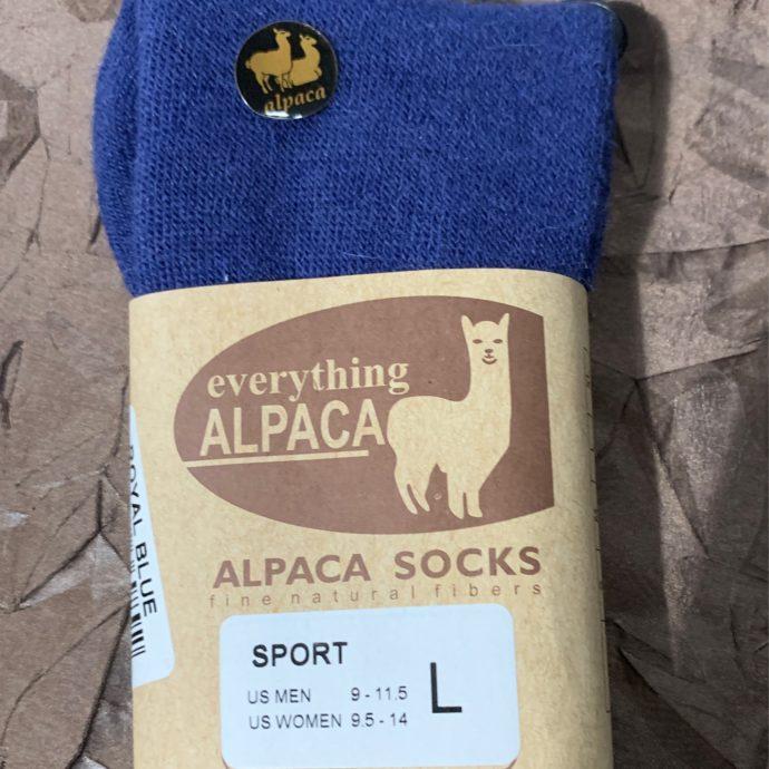 EA Blue Sport Sock Large