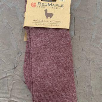 RM Brick Alpaca Socks - Large