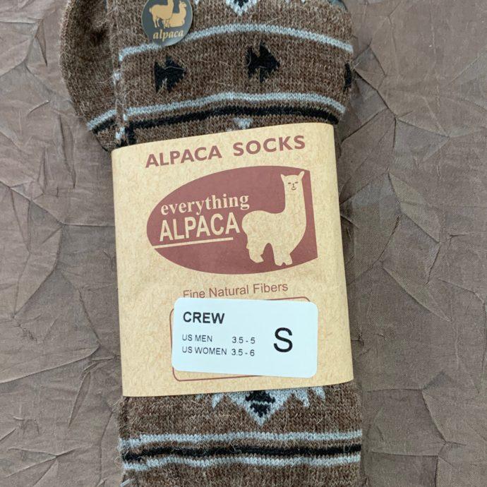EA Cocoa Aztec Dress Socks