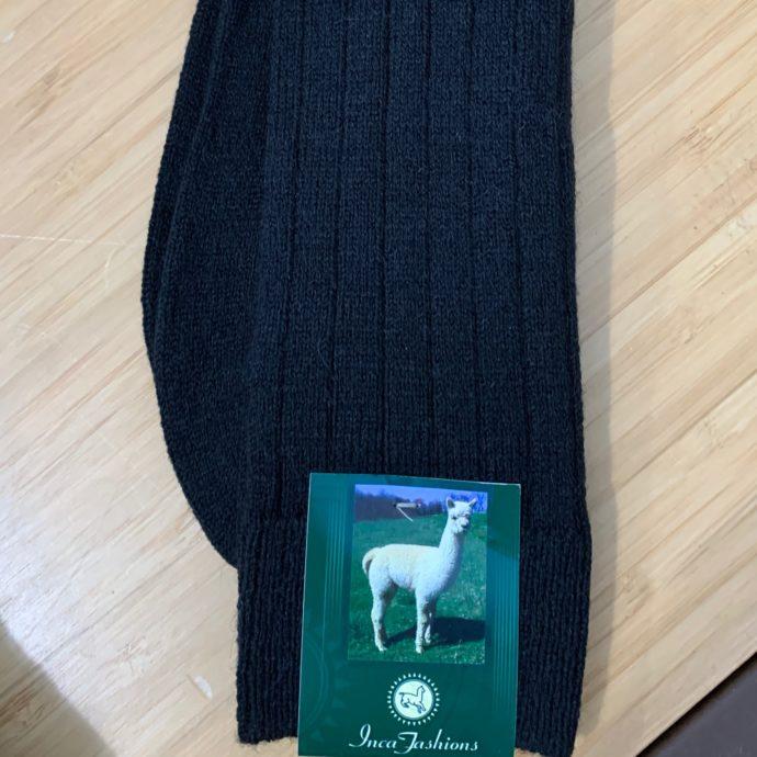 Men's Dress Socks - Black Large