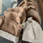 Knit Baby Hat - 100% Alpaca - Handmade by Aunt Diane