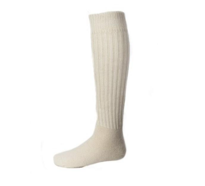 EA Relaxed Knee High Socks in White
