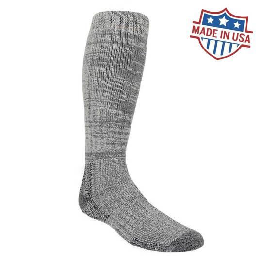 LC231 Arctic Knee High Alpaca Socks for Extreme Cold - Dark Grey
