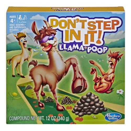 Don't Step In It! Llama Poop Game
