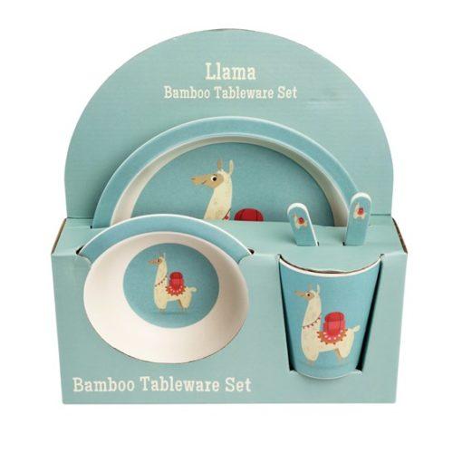 Dolly Llama Children's Tablewear - Set of 5 Dishes