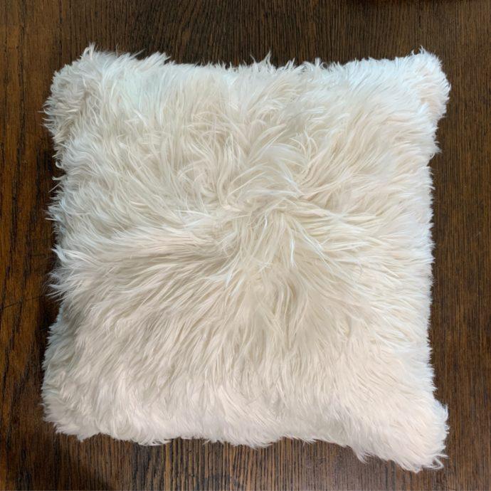 Alpaca Fur Pillow Made from 100% Super Baby Suri Fiber