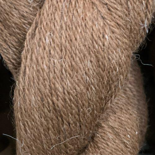 George Dark Brown Alpaca Yarn in 3 Ply Sport