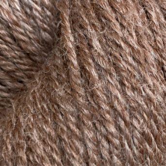 Alpaca Sport Yarn With 5% Tencel in Dark Rose Grey