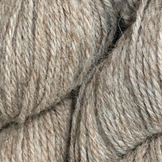 Rose Grey Alpaca With Angelina Silk Sport Yarn