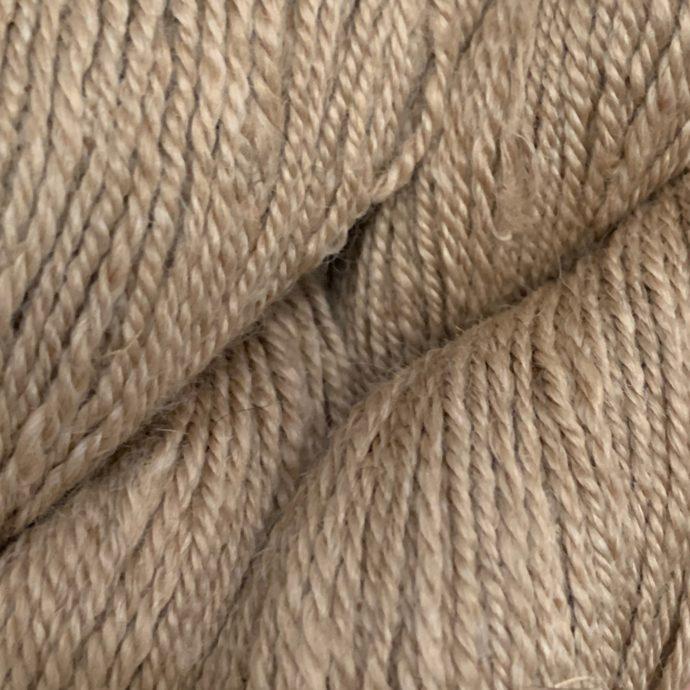 Grade 1 Fingering Alpaca yarn in Medium Fawn