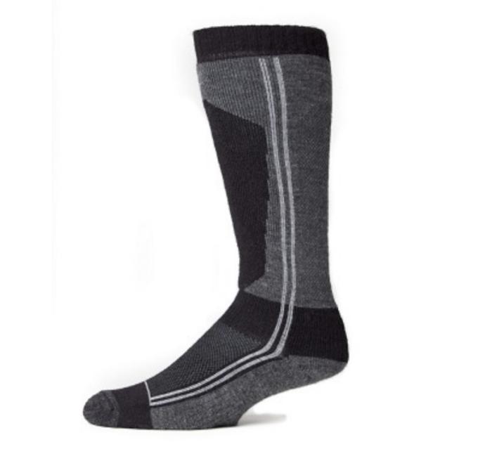 EA Black and Grey Ski Socks