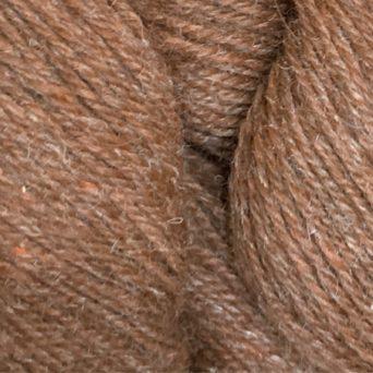 Brown and Orange Alpaca Blend Specialty Yarn