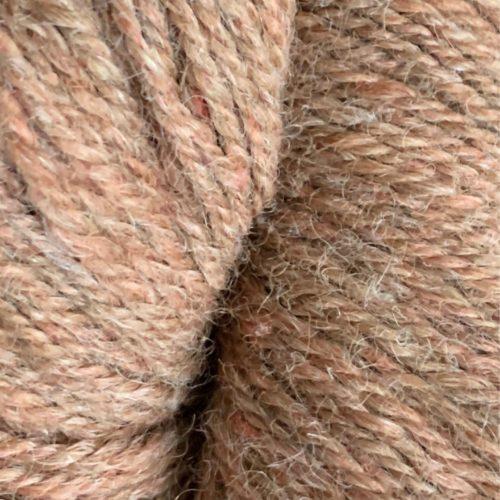 Fawn and Red Alpaca Blend Sock Yarn