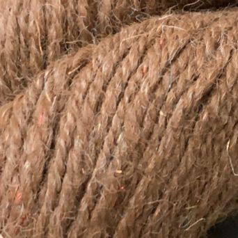 Alpaca and Angelina Silk Sport Yarn in Brown