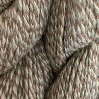 100% Alpaca Yarn White Rose Grey and Silver Grey Tweed