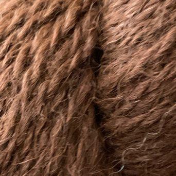 100% Alpaca Dark Brown 2 Ply Sport Yarn