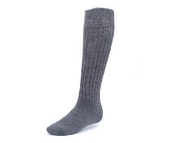 EA Relaxes Knee High Socks in Dark Grey