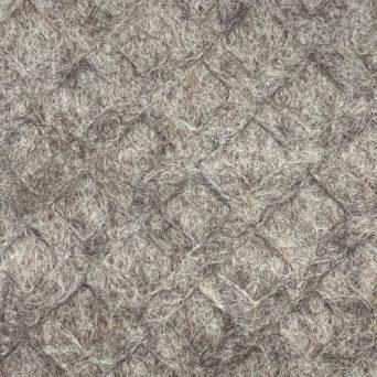 100% Alpaca Felt Light Silver Grey 32 oz