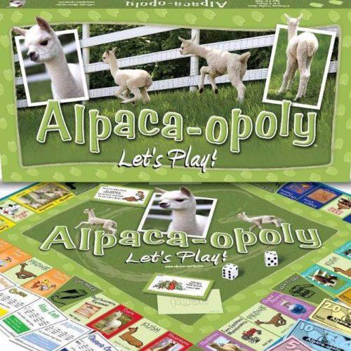 Alpaca-opoly Board Game