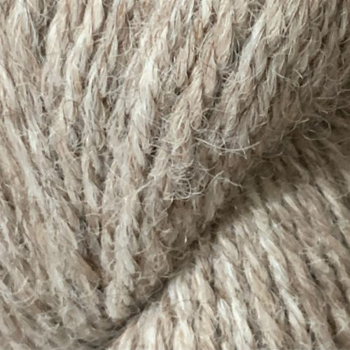 Sport Alpaca Yarn With 10% Tencel in Light Rose Grey