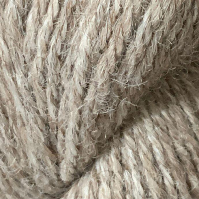 Sport Alpaca Yarn With 10% Tencel in Light Rose Grey