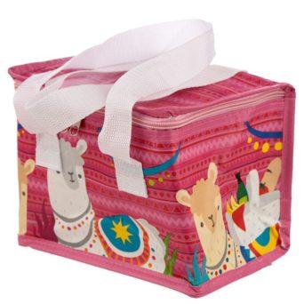 Alpaca Lunch Bag - Pink