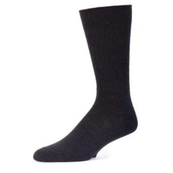 EA Black Alpaca Dress Socks
