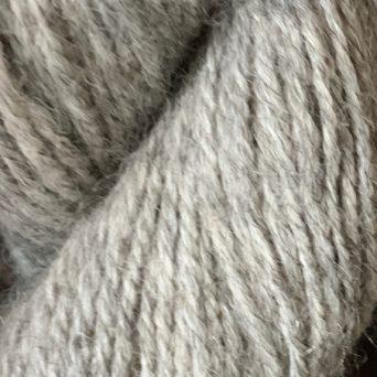 Light Silver Grey Alpaca Blend Sport Yarn