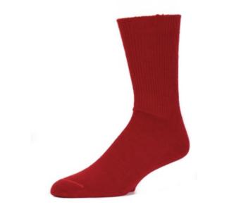 EA Red Alpaca Dress Socks