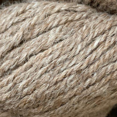 Rose Grey Alpaca Yarn With 5% Tussah Silk