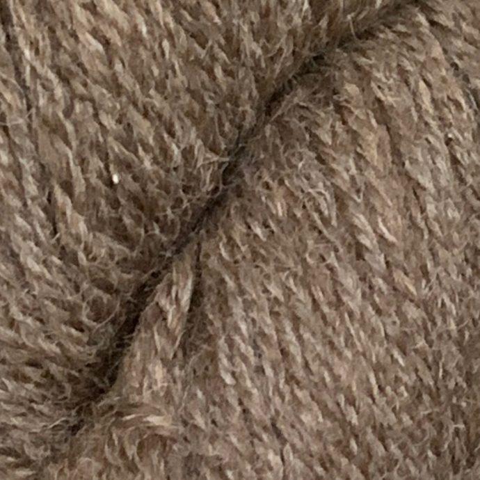Grade 2 Rose Grey Alpaca Sport Yarn