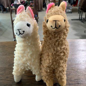 Plush Alpacas (Set of 2)