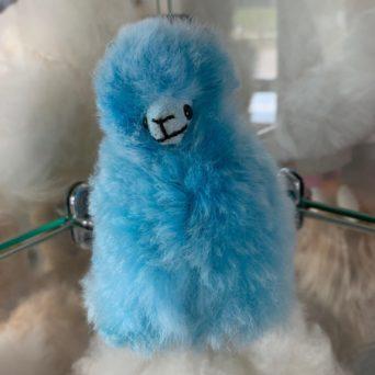 Mini Plush Alpacas - Baby Blue