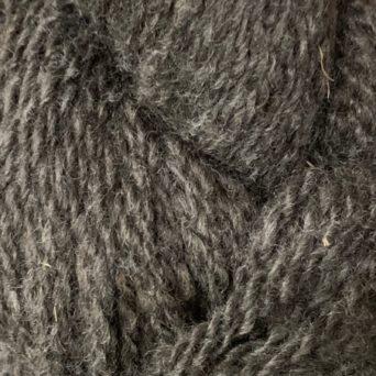 Heartthrob Dark Silver Grey Alpaca Yarn in 2 Ply DK