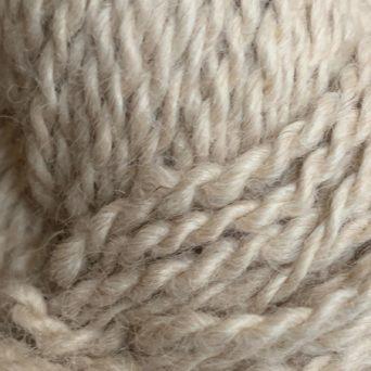 Pumpkin Light Fawn Alpaca Yarn in 2 Ply DK