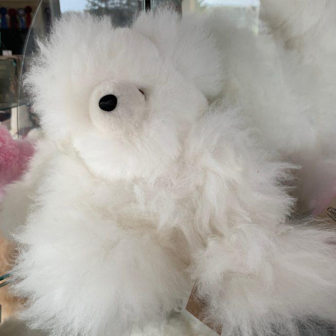 12 Inch Plush Imperfect Teddy Bear