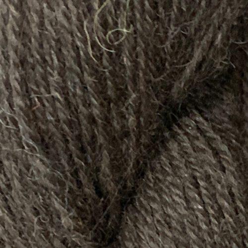 Black Fingering Alpaca Yarn