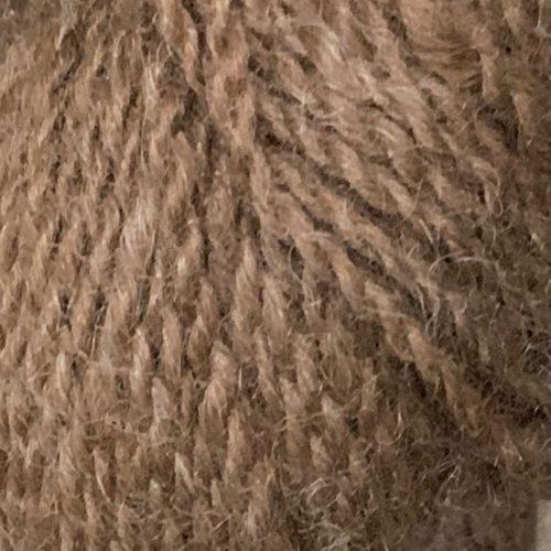 Grade 2 Rose Grey 3 Ply Alpaca Sport Yarn