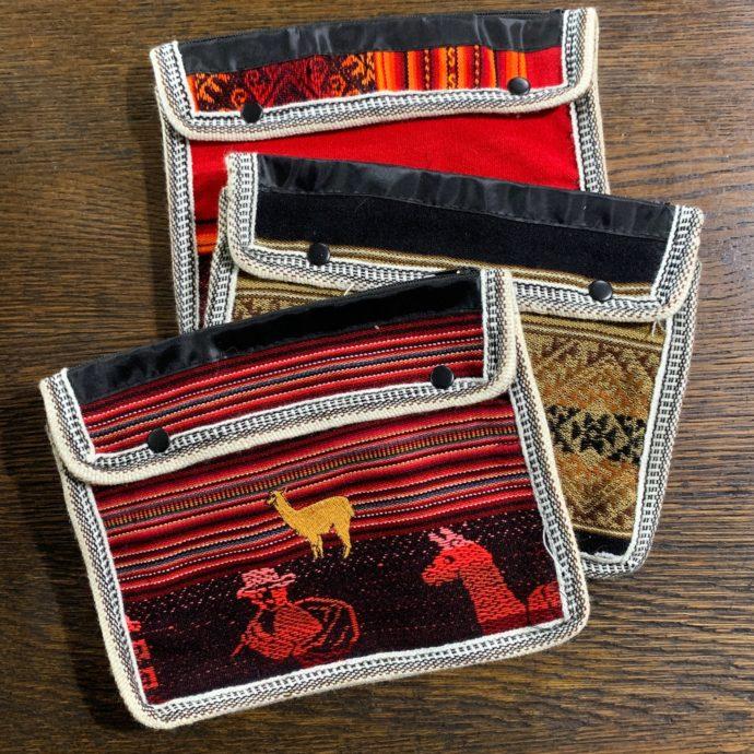Tablet Bag With Llamas