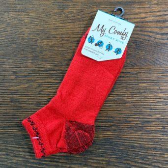 My Comfy Red Sports Sock - Medium LC214